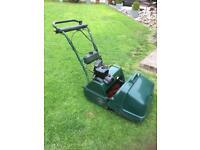 Atco Balmoral 17 SE petrol cylinder lawnmower