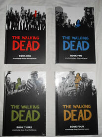 The Walking Dead Books 1-4 [hardcover][#48 issues]