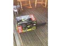 Ryobi petrol chain saw brand new boxed