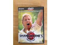 Shane Warned interactive DVD game cricket test
