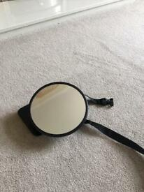 Large rear view mirror