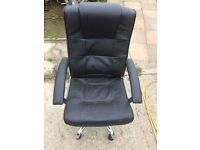 swivel chair with gas lift £17.50