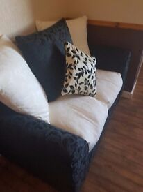Large 2 seater sofa and matching standard 2 seater sofa
