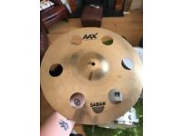 "Sabian 16"" aax o-zone crash cymbal"