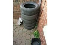 """Vauxhall 5 stud 15"""" steel wheels"""