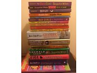 David Walliams & jaqueline Wilson books