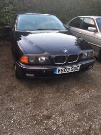 Body and mechanically excellent. Maintained and owned by a BMW specialist.