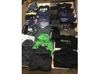 Big bundle of boy clothes age 12