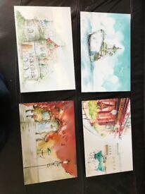 High quality Set of four wall frames