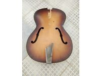 Hofner Congress Body and Trapeze Tail piece No Neck and Not the the Harp tail piece.