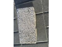 block paving bricks x 200 approx (800mm thick) strong to hold a vehicle