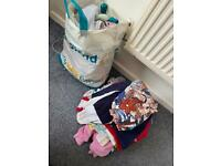 Large bundle of baby girl 9-12 & 12-18 month clothes