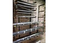 Metalwork workshop wall mounted rack/ shelving