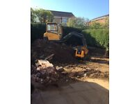 Nicholsons Groundworks & Landscapes Commercial landscapes, Demolition contractor, groundworks