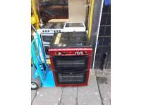 New world double duel glass top cooker £135