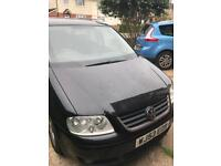 Vw Touran black 2003 breaking all part available