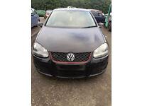 2006 VW Golf 2.0 GT-TDI MK5 BLACK 6speed ''BREAKING'' Parts for Sale