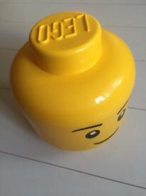 Lego man storage head empty genuine