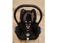 Maxi Cosi Pebble Infant Car Seat (like new) BLACK Herts/North London