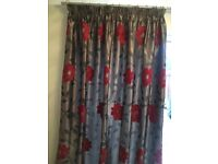 Two sets of matching curtains, one full length, one window length £30 per pair