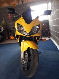 Reluctant sale Honda CBR600F1
