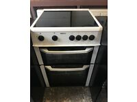 Beko BDC643W 60cm Double Electric Cooker in White #3211