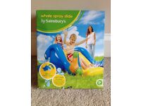 Inflatable Whale Spray Slide - brand new