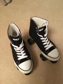 Roller boots size 7 and size 6