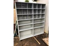 Industrial steel shelving racking storage for garage warehouse shed office Link 51 Stormor