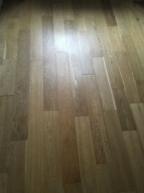 Laminate flooring, oak effect, 13 sq m