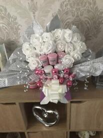 Yankee candle foam diamanté chocolate bouquet made to order