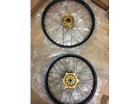 Yz125/yz250 wheels talon wheels