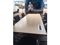office furniture 2.6 meter maple meeting taBLE