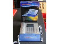 Phone Touch Panel Corded Phone-Calendar-Calculator Record Incoming Calls