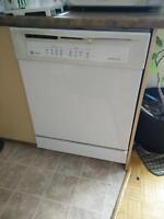 Ge side by side white fridge perfect condition