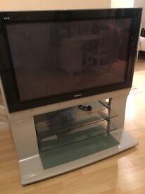 """Panasonic Veira 42"""" TV & Stand"""