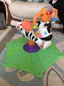 Fisher Price bouncing zebra