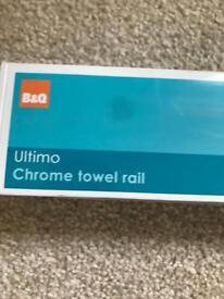 B&Q towel rail never been opened