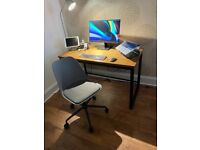 Office desk & chair (John Lewis)