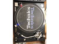 Technics SL-1210M5G Direct Drive Turntables both in Excellent condition