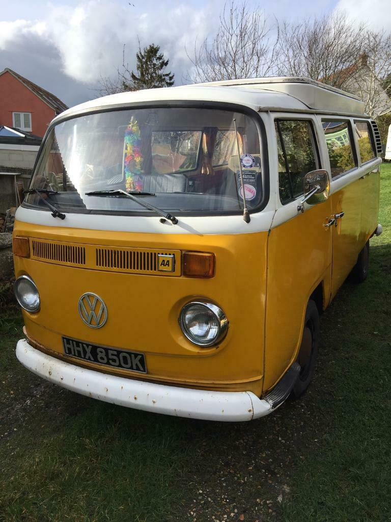 2f639eb40b VW Camper T2 - 1972 Bay Window (SOLD)