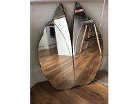 Art Deco Noveau mirror decorative