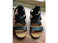 Clarks Originals real leather sandals size 5.5