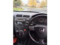 Selling Honda Civic 2002 1.6 petrol! £350