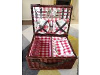 Brand new picnic basket