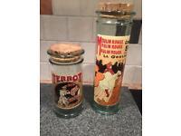 Glass pasta jars
