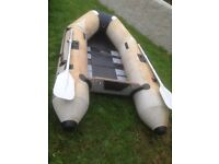 Yam 250T Dinghy. Rib. Tender. Boat. Must Go ASAP. Includes Dual Action Pump And Oars