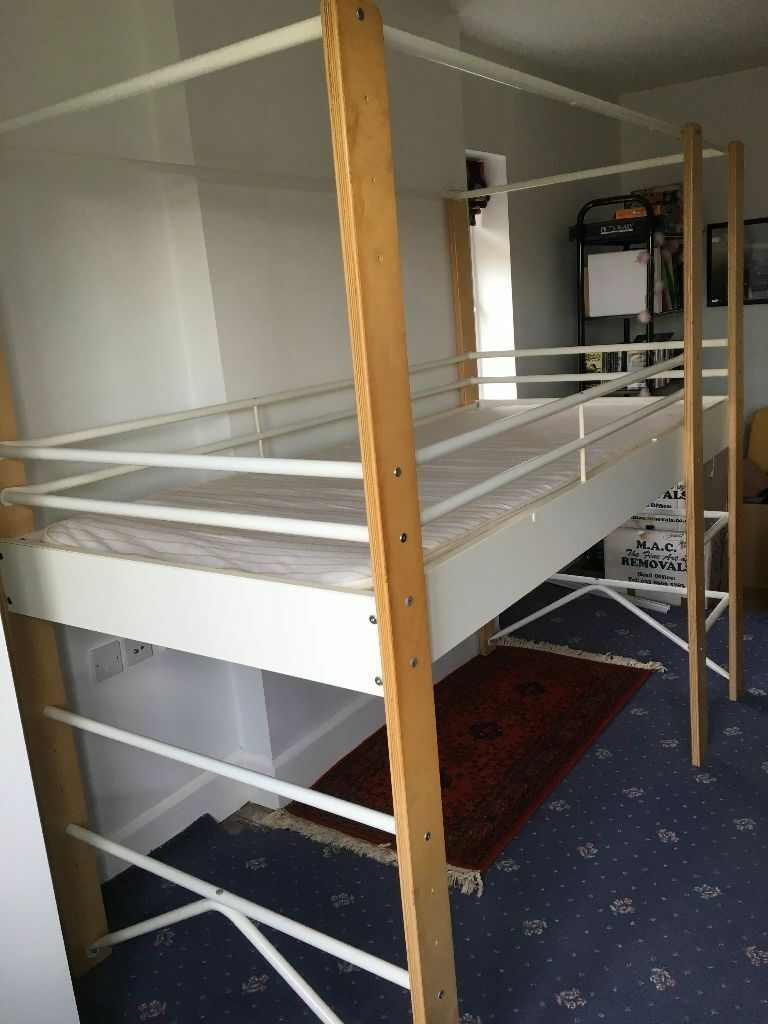 Ikea Lo Bed Frame Adjustable To 3 Different Heights With