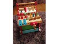 Early Learning Centre Wooden Activity Workbench Walker