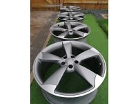 Genuine Audi RS 20 inch ROTOR set of 4 alloy wheels